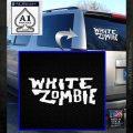 White Zombie Rock Band Vinyl Decal Sticker White Emblem 120x120