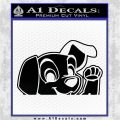 101 Dalmations Pup Decal Sticker Black Logo Emblem 120x120
