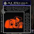 101 Dalmations Pup Decal Sticker Orange Vinyl Emblem 120x120