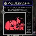 101 Dalmations Pup Decal Sticker Pink Vinyl Emblem 120x120