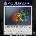 101 Dalmations Pup Decal Sticker Sparkle Glitter Vinyl 120x120