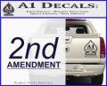 2nd amendment gun control Decal Sticker PurpleEmblem Logo 120x97