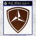 3rd Marine Division Decal Sticker BROWN Vinyl 120x120