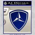3rd Marine Division Decal Sticker Blue Vinyl 120x120