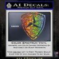 3rd Marine Division Decal Sticker Glitter Sparkle 120x120
