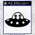 Alien Copilots Decal Sticker Black Logo Emblem 120x120