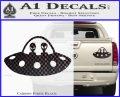 Alien Copilots Decal Sticker Carbon Fiber Black 120x97