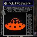 Alien Copilots Decal Sticker Orange Vinyl Emblem 120x120