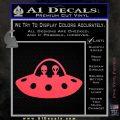 Alien Copilots Decal Sticker Pink Vinyl Emblem 120x120