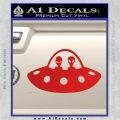 Alien Copilots Decal Sticker Red Vinyl 120x120