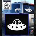 Alien Copilots Decal Sticker White Emblem 120x120