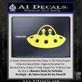 Alien Copilots Decal Sticker Yelllow Vinyl 120x120