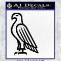 American Bald Eagle DG Decal Sticker Black Logo Emblem 120x120