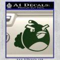 Angry Birds Bomb Decal Sticker Dark Green Vinyl 120x120