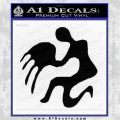 Aquarius Zodiac Decal Sticker D1 Black Vinyl 120x120