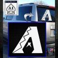 Arizona Diamondbacks MLB Logo Decal Sticker White Emblem 120x120