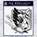 Attack On Titan Armor Titan Anime Decal Sticker Black Logo Emblem 120x120