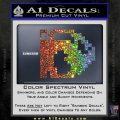 BULLET BILL 8BIT SUPER MARIO BROS KART VINYL DECAL STICKER Sparkle Glitter Vinyl 120x120