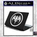 Bacardi Bat CR Decal Sticker White Vinyl Laptop 120x120
