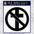 Bad Religion Decal Sticker Black Logo Emblem 120x120