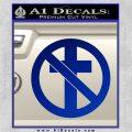 Bad Religion Decal Sticker Blue Vinyl 120x120