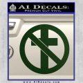 Bad Religion Decal Sticker Dark Green Vinyl 120x120