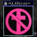 Bad Religion Decal Sticker Hot Pink Vinyl 120x120