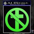 Bad Religion Decal Sticker Lime Green Vinyl 120x120