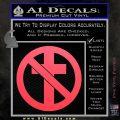 Bad Religion Decal Sticker Pink Vinyl Emblem 120x120