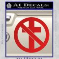 Bad Religion Decal Sticker Red Vinyl 120x120