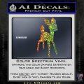 Bambi Decal Sticker D3 Sparkle Glitter Vinyl 120x120