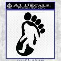 Bigfoot Decal Sticker D1 Black Logo Emblem 1 120x120