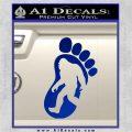 Bigfoot Decal Sticker D1 Blue Vinyl 1 120x120