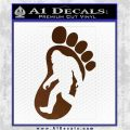 Bigfoot Decal Sticker D1 Brown Vinyl 1 120x120