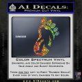Bigfoot Decal Sticker D1 Sparkle Glitter Vinyl 1 120x120