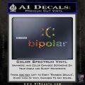 Bipolar Decal Sticker Glitter Sparkle 120x120