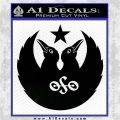 Black Crowes Jimmy Page Rock Band Decal Sticker Black Logo Emblem 120x120