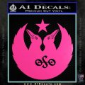 Black Crowes Jimmy Page Rock Band Decal Sticker Hot Pink Vinyl 120x120