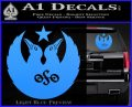 Black Crowes Jimmy Page Rock Band Decal Sticker Light Blue Vinyl 120x97