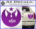 Black Crowes Jimmy Page Rock Band Decal Sticker Purple Vinyl 120x97