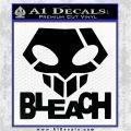 Bleach Anime T Decal Sticker Black Logo Emblem 120x120