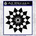 Bleach Gotei 13 Third Division Anime Decal Sticker Black Logo Emblem 120x120