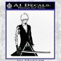 Bleach Ichigo Kurosaki Anime Decal Sticker Black Logo Emblem 120x120
