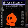 Bomb omb Mario SXC Decal Sticker Orange Vinyl Emblem 120x120