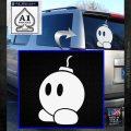 Bomb omb Mario SXC Decal Sticker White Emblem 120x120