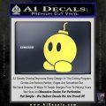 Bomb omb Mario SXC Decal Sticker Yelllow Vinyl 120x120