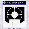 Call of Duty Deadshot Daiquiri Perk Decal Black Logo Emblem 120x120