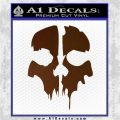 Call of Duty Ghosts Decal Brown Vinyl 120x120