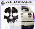 Call of Duty Ghosts Decal Carbon Fiber Black 120x97