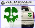 Call of Duty Ghosts Decal Green Vinyl 120x97